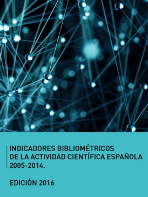 Indicadores bibliométricos de la actividad científica española 2005-2014.