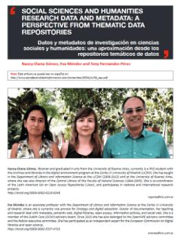 Premio Scimago 2020: Mejor artículo en Información y Documentación